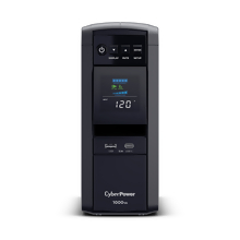 CyberPower CP1000PFCLCD UPS 1000VA 600W PFC compatible Pure sine wave