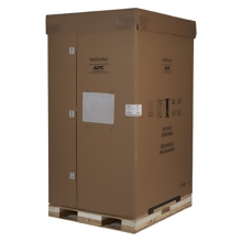 APC NetShelter SX 45U 750mm Wide x 1200mm Deep Enclosure with Sides Black -2000 lbs. Shock Packaging