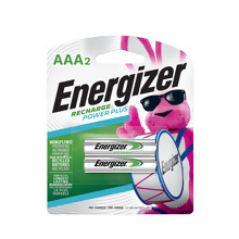 <i>Energizer</i> Recharge<sup>®</sup> Power Plus AAA-2 pack (NH12BP-2)