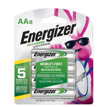 NH12BP4 <i>Energizer</i> Recharge<sup>®</sup> Power Plus AAA-4 pack