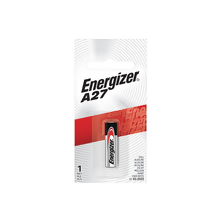 <i>Energizer</i><sup>®</sup> A27 Battery-1 pack (A27BPZ)