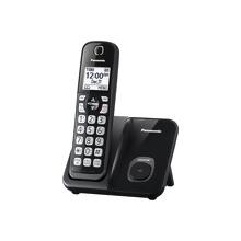 Panasonic Expandable Cordless Phone with Call Block - 1 Handset - KX-TGD510B