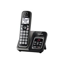 Panasonic Expandable Cordless Phone with Call Block and Answering Machine - 1 Handset - KX-TGD530M