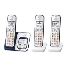 Panasonic Link2Cell Bluetooth® Cordless Phone with Voice Assist and Answering Machine - 3 Handsets - KX-TGD563A