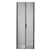 APC NetShelter SX 42U 600mm Wide Perforated Split Doors Black
