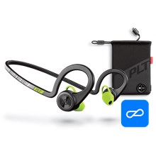 Plantronics BackBeat FIT Boost Edition, Black Core, includes charging pouch Black Core