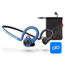 Plantronics BackBeat FIT Boost Edition, Power Blue, includes charging pouch Power Blue