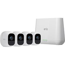 Netgear Arlo Pro 2 Smart Security System with 4 Cameras (VMS4430P)