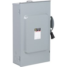 Schneider Electric General Duty Safety Switches 200A 2P Type3R 120/240VAC General Duty Safety Switch with Solid Neutral