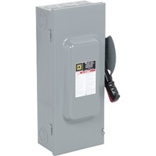 Schneider Electric Heavy Duty Safety Switches 100A 3P SN Type1 240VAC/250VDC Heavy Duty Fusible Safety Switch