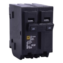 Schneider Electric HomeLine Circuit Breakers HOMELINE CIRCUIT BREAKER 120/240V 40A 2P