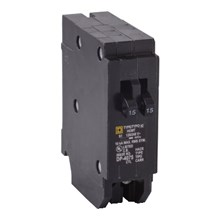 Schneider Electric HomeLine Circuit Breakers HOMELINE CIRCUIT BREAKER 120V 15A&15A QUAD