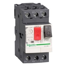 Schneider Electric TeSys GV2 Manual Starters and Protectors TeSys GV2-Circuit breaker-thermal-magnetic - 1.6...2.5 A - screw clamp terminals