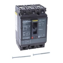 Square D PowerPact H-Frame Moulded Case Circuit Breakers PowerPact H Circuit Breaker,ThermMagn,15A,3P,600V,14kA