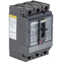 Square D PowerPact H-Frame Moulded Case Circuit Breakers PowerPact H Circuit Breaker,ThermMagn,60A,3P,600V,14kA