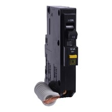 Square D QO / QOB Circuit Breakers QO Miniature Circuit Breaker 15A 1P 120V 10kA Plug-in Mount