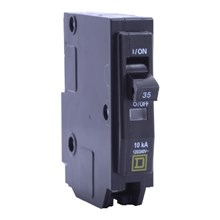 Square D QO / QOB Circuit Breakers QO Miniature Circuit Breaker 40A 1P 120/240V 10kA Plug-in Mount