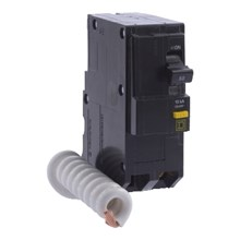 Square D QO / QOB Circuit Breakers QO Miniature Circuit Breaker 50A 2P 120/240V 10kA Plug-in Mount