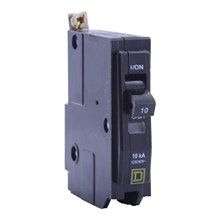 Square D QO / QOB Circuit Breakers QO Miniature Circuit Breaker 15A 1P 120/240V 10kA Bolt-on Mount