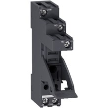 Schneider Electric Zelio Relay - Electromechanical socket RGZ - separate contact -10 A - 250 V - Screw connector