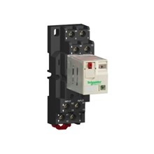 Schneider Electric Zelio Relay - Electromechanical socket RPZ - mixed contact - 16 A - < 250 V - screw clamp - for relay RXM2..