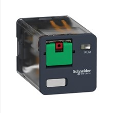 Schneider Electric Zelio Relay - Electromechanical universal plug-in relay - Zelio RUM - 2 C/O - 24 V AC - 10 A