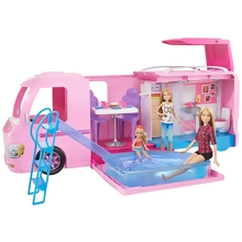 FBR34 SUPERCARAVANA DE BARBIE
