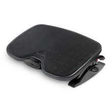 Kensington k52789ww SmartFit® Solemate™ Plus Foot Rest — Black