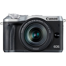 Canon EOS M6 + EF-M 18-150mm IS STM Lens - Silver