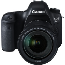 Canon EOS 6D + EF 24-105mm IS STM Lens