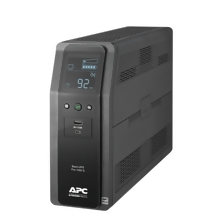 APC Back UPS PRO BR 1000VA, SineWave, 10 Outlets, 2 USB Charging Ports, AVR, LCD interface