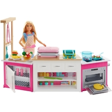 Barbie® Ultimate Kitchen Playset with doll (FRH73)