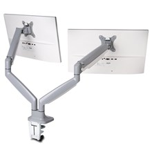 Kensington K55471WW SmartFit® One-Touch Height Adjustable Dual Monitor Arm