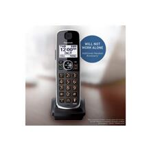 Panasonic Dect 6.0 Digital Additional Black Cordless Handset for TGE630 TGE660 series - KX-TGEA61B1