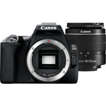 Canon EOS 250D Body, Black + EF-S 18-55mm f/3.5-5.6 III Lens + Shoulder Bag + 16GB Memory card