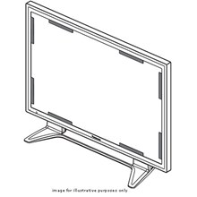 Panasonic TY-AR42P9W R42P9W - plasma panel anti-glare filter