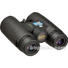 Pentax 62552 10X42 DCF-WPII Waterproof and Fogproof Roof Prism Binocular with 6-Degree Angle of View
