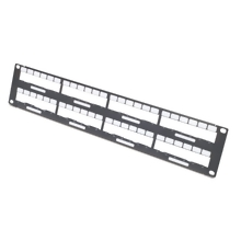 APC Data Distribution 2U Panel, Holds 8 each Data Distribution Cables for a Total of 48 Ports