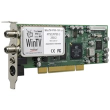 Hauppauge WINTV-PVR-150 MCE LOW PROFILE WHITE BOX W/ MCE 2005 DRIVERS ONLY (1086)