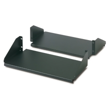 APC Double Sided Fixed Shelf for 2-Post Rack 250 lbs Black
