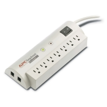 APC APC Personal SurgeArrest, 7 outlet, phone line pro SurgeArrest Personal - Surge suppressor - external - 7 output connectors