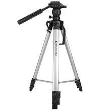 Barska Optics AF10374 Deluxe Tripod with 2-Way Fluid Head with Quick Release Platform, Extends to 63.4""