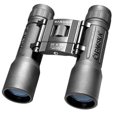 Barska Optics AB10670 20 x 32 Lucid View, Weather Resistant Roof Prism Binocular, with 2.8 Degree Angle of View, Black
