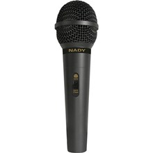 "Nady ADIB000R4LQ4I Starpower , Dynamic Handheld Microphone with switch & 20' XLR to 1/4"" Plug Cable"