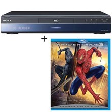 Sony BDPS300SM DP-S300/SM Blu-ray Disc Player Spiderman 3 Limited Edition