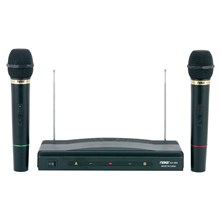 Naxa NX984 Dual Wireless Microphone System