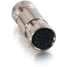 Cables To Go 42189 15PIN DIN FEM-COUPLER