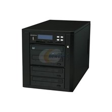 Ily D03MDARBASPI Black 1 to 3 DVD Duplicator Pro Multimedia Backup Center Model MD800