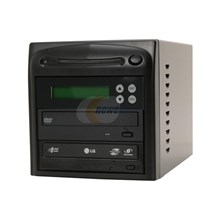 SySTOR Systems ALTA01LS Black 1 to 1 DVD Duplicator Lightscribe with USB port Model