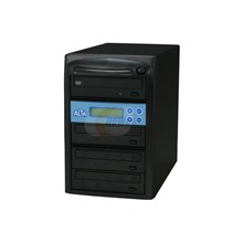 SySTOR Systems ALTA03D-SATA Black 1 to 3 DVD Duplicator with USB Connection Model